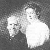 with Grandpa Lewis, photograph taken in 1904
