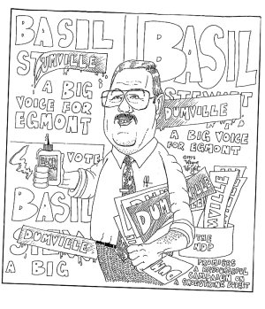 cartoon: Basil Brian Dumville