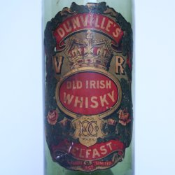 Dunville's V.R. Old Irish Whisky label