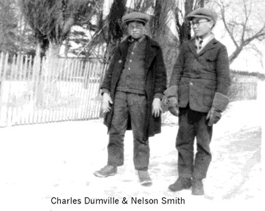 photograph: Charles Burrough Dumville and Nelson Smith