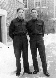 photograph: Clifford Dumville and Gordon Dumville, 1942