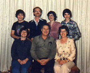 photograph: Clifford Dumville and family