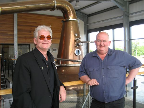 Christopher Dunville and Shane Braniff at The Echlinville Distillery, 5 July 2017