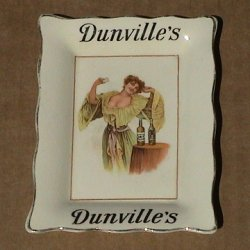 Dunville's Whisky change tray
