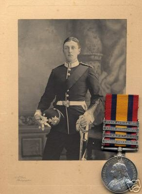 photograph: Captain David William Edward Domville, Devonshire Regiment (1880-1908)