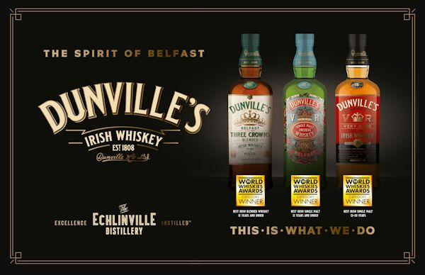 The Echlinville Distillery World Whiskies Awards