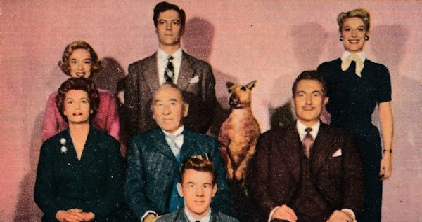 "The Armstrongs of ""One Family"" (ITV, 1955–1956): Dinah Ann Rogers, Anthony Doonan, Roma Denville, Joyce Heron, Gordon Harker, Patrick Holt, David Coote"