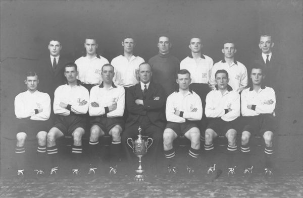 Dunville Football Club, Winners of Irish Intermediate Cup, 1932–1933