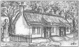 drawing: Belfast Gate Cottages