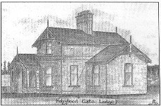 drawing: Holywood Gate Lodge