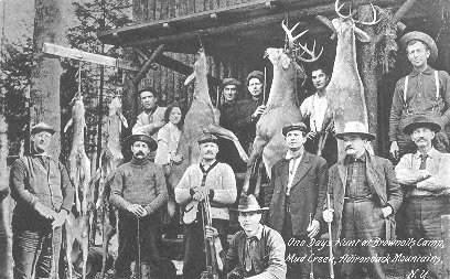 photograph: One Days Hunt at Brownells Camp