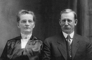 photograph: Catharine and Joseph Dumville