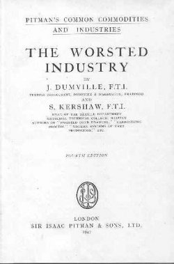 'The Worsted Industry': title page
