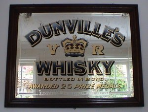 photograph: Dunville's Whisky Mirror