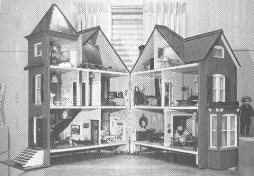 photograph: interior of the dolls' house