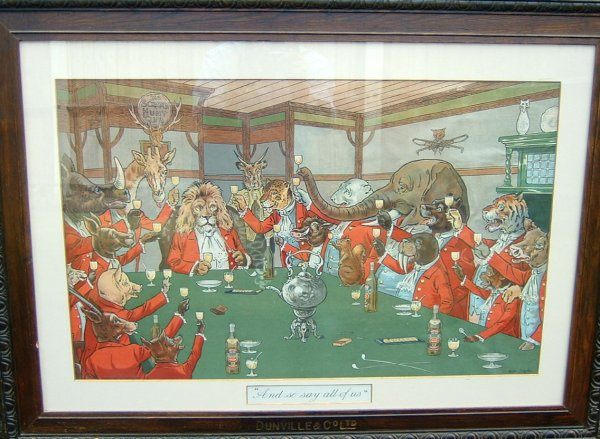 "print: The Scratch Hunt Club, ""And so say all of us"", by Walter Drayton, DUNVILLE & CO LTD."