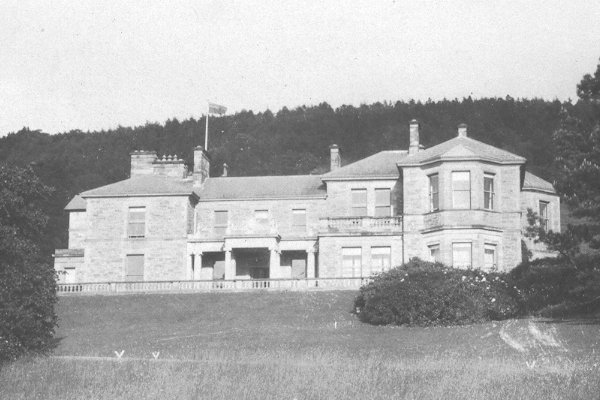 photograph: the Front of Redburn House