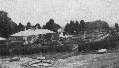 photograph: Redburn House, Fountain and Stables
