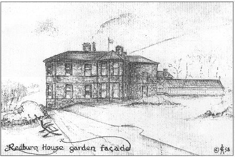 drawing: Redburn House Garden Façade