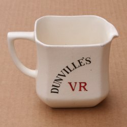 Dunville's Whisky small ceramic water jug