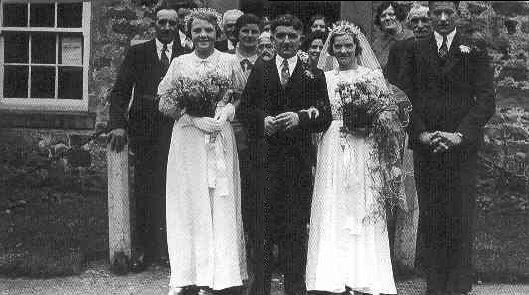 Wedding of Wilf and Edna Airey