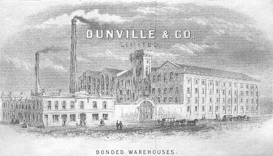 Dunville & Co. Limited Bonded Warehouses, Adelaide Street