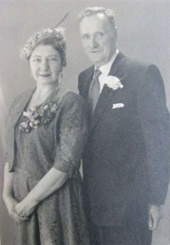 Ivy Evelyn Dunville née Coombs (1906-1967) and William Gustavus Dunville (1900-1956)